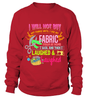 Sewing Stash Shirt - I Love Quilting Forever - 11
