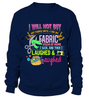 Sewing Stash Shirt - I Love Quilting Forever - 3