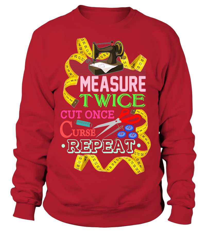Sewing Measure Twice Shirt - I Love Quilting Forever - 8