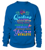 Quilting Athlete Shirt - I Love Quilting Forever - 14