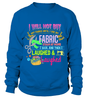 Sewing Stash Shirt - I Love Quilting Forever - 16