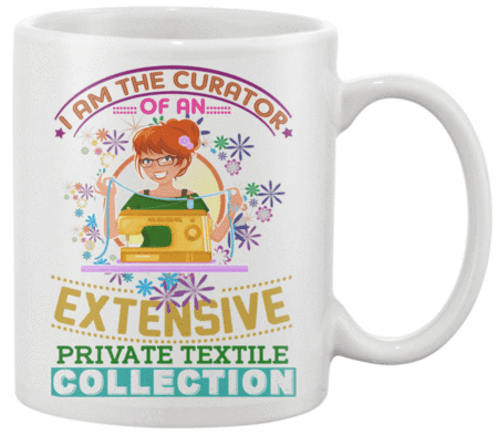 Sewing Curator Mug - I Love Quilting Forever