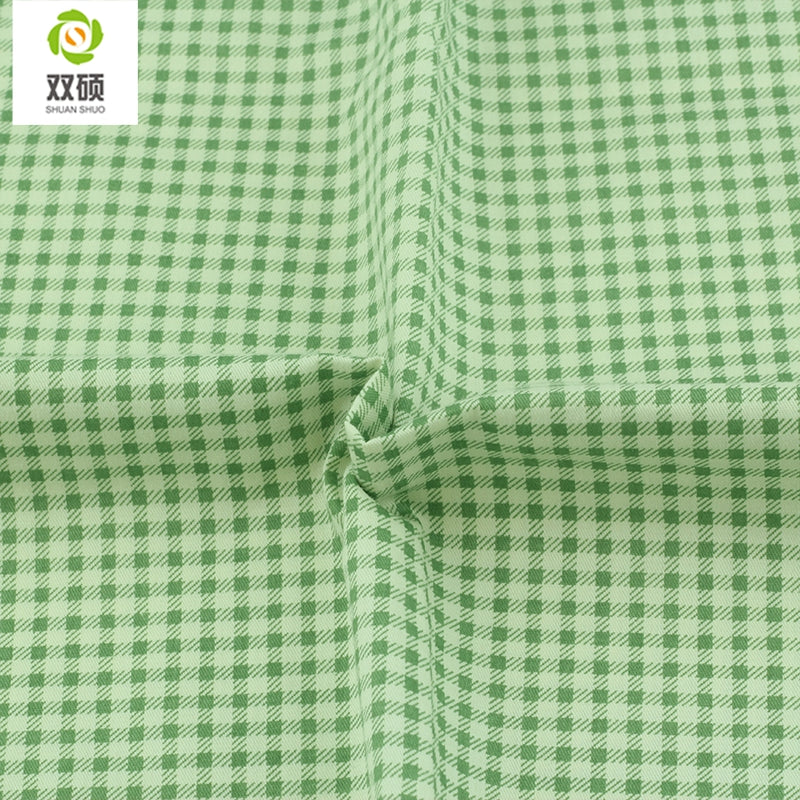 "5pcs Green ""Extra Fat"" Fat Quarter Cotton Fabric"