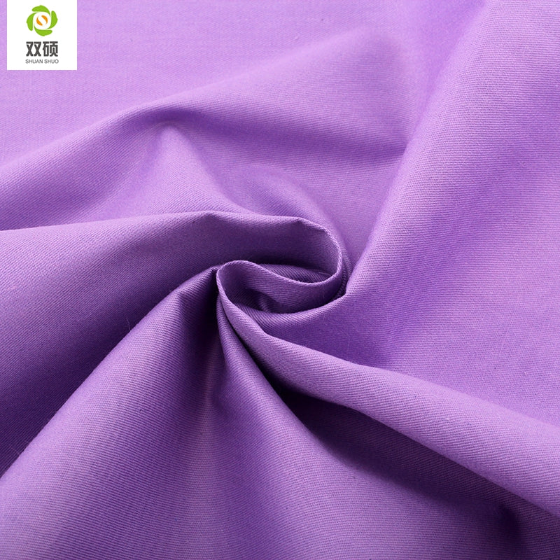 "5pcs Purple ""Extra Fat"" Fat Quarter Cotton Fabric"