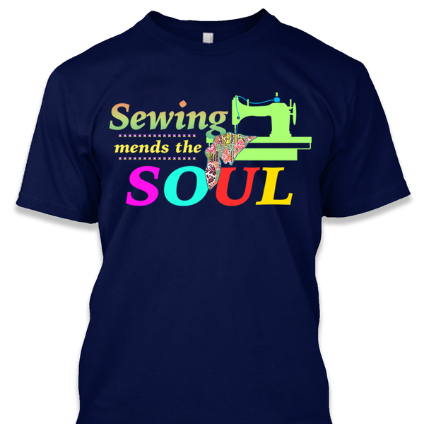 Sewing Mends Shirt