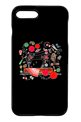 Sewing iPhone Case - I Love Quilting Forever - 32