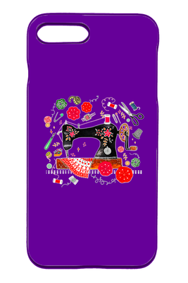 Sewing iPhone Case - I Love Quilting Forever - 35