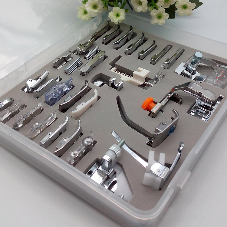 32pcs Presser Feet Set With Case - I Love Quilting Forever - 1