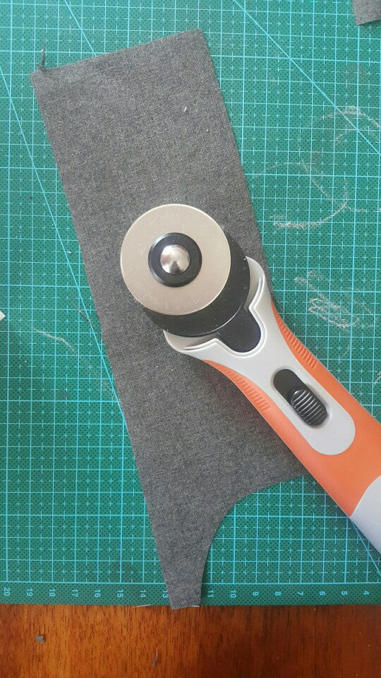 Cushion Grip 45mm Rotary Cutter (with safeguard)