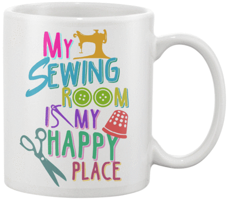 Sewing Room Mug - I Love Quilting Forever
