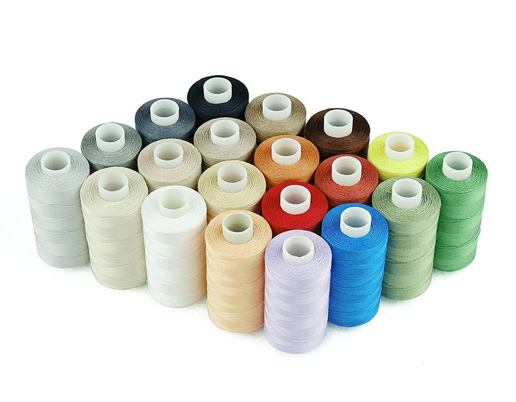 20 Cotton Thread Spools (550yards/spool) (Free Shipping)