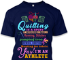 Quilting Athlete Shirt