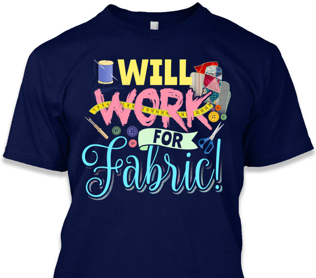 Quilting Will Work Shirt