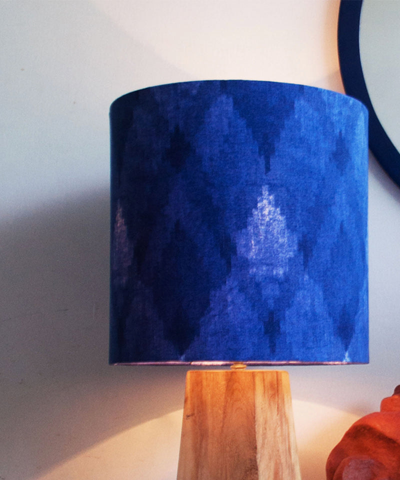 The Blue Prism Lamp Shade