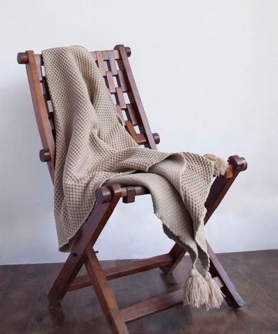 Ombre Knitted Throw