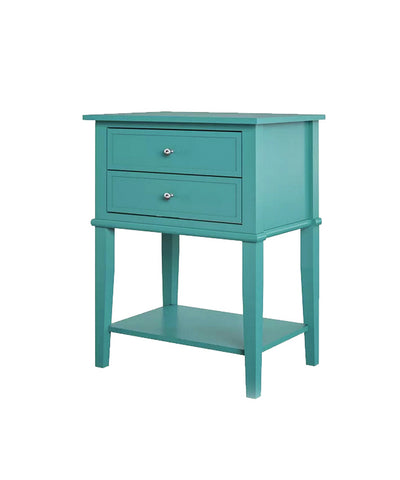 Turquise Night Stand / End Table