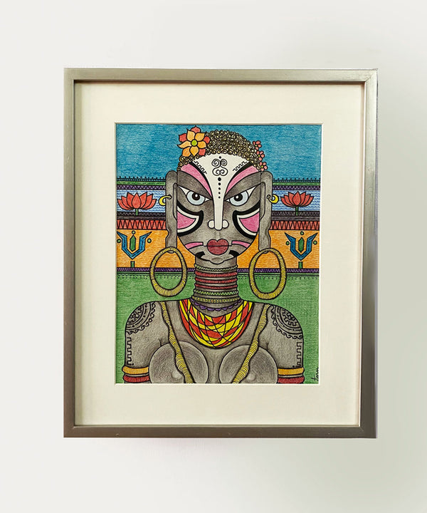 Tara Tribal Face Wall Art