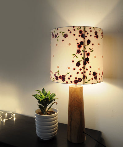 Falling Petals Lamp Ensemble