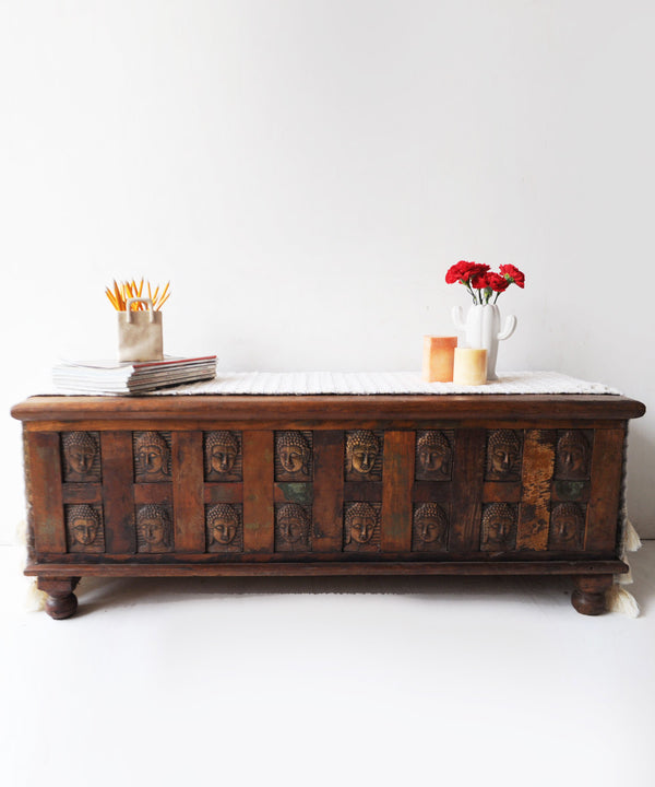 Vintage Buddha Chest