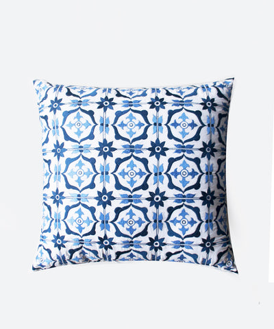 Square Sky Turkish Tile Cushion