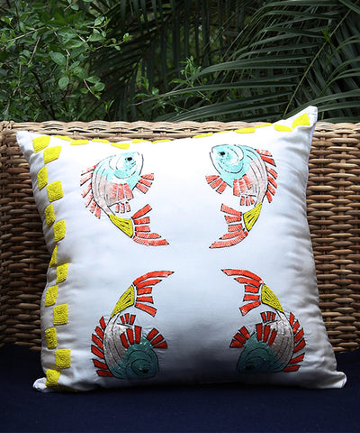 Flying Fish Cushion Cover