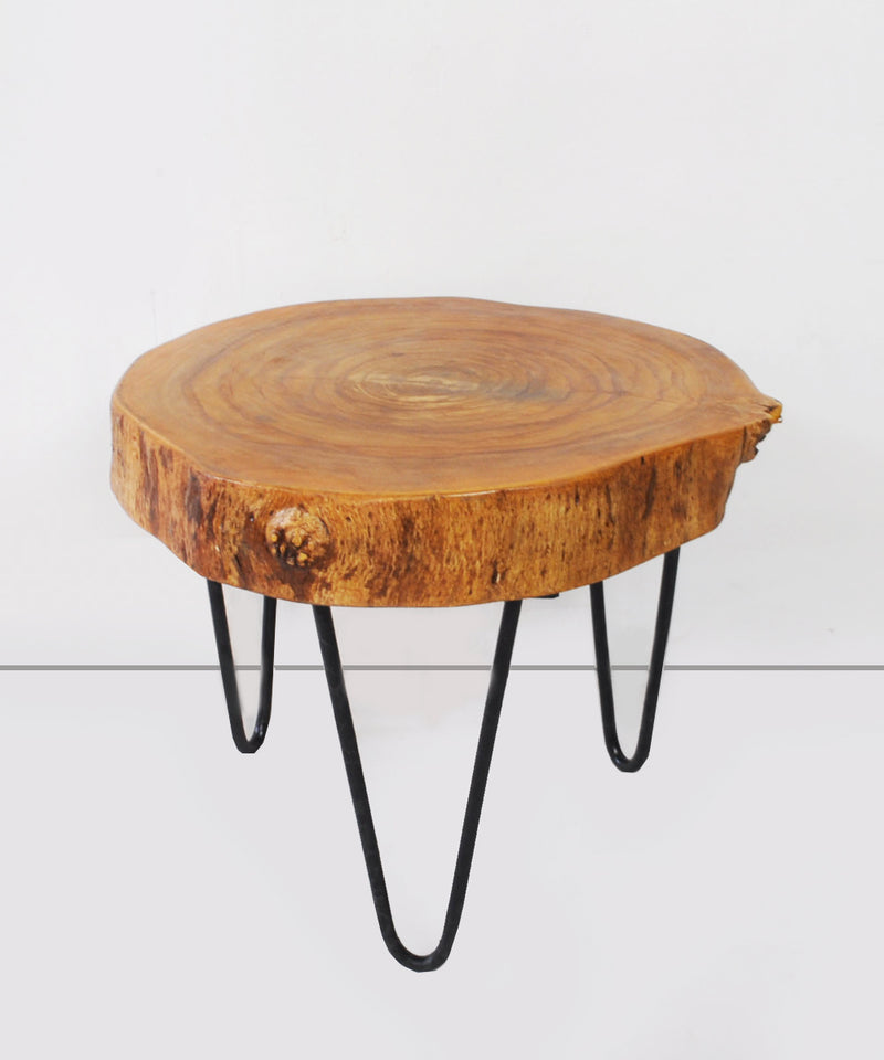 The Log Side Table