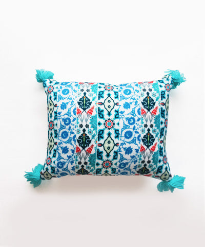 Mini Turkish Tasseled Cushion