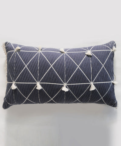Glory Grey Long Cushion