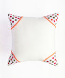 Schiffli Corner Cushion Cover