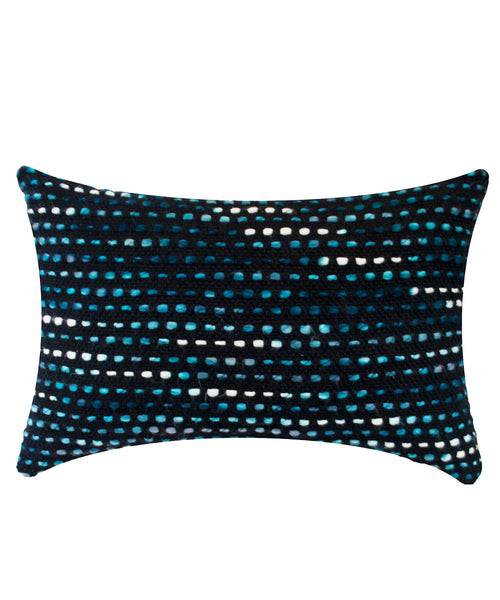 Knitted Pom long cushion cover