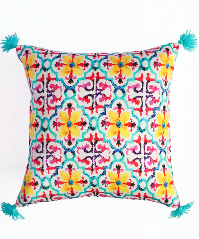 Turkish Tile Cushion Cover