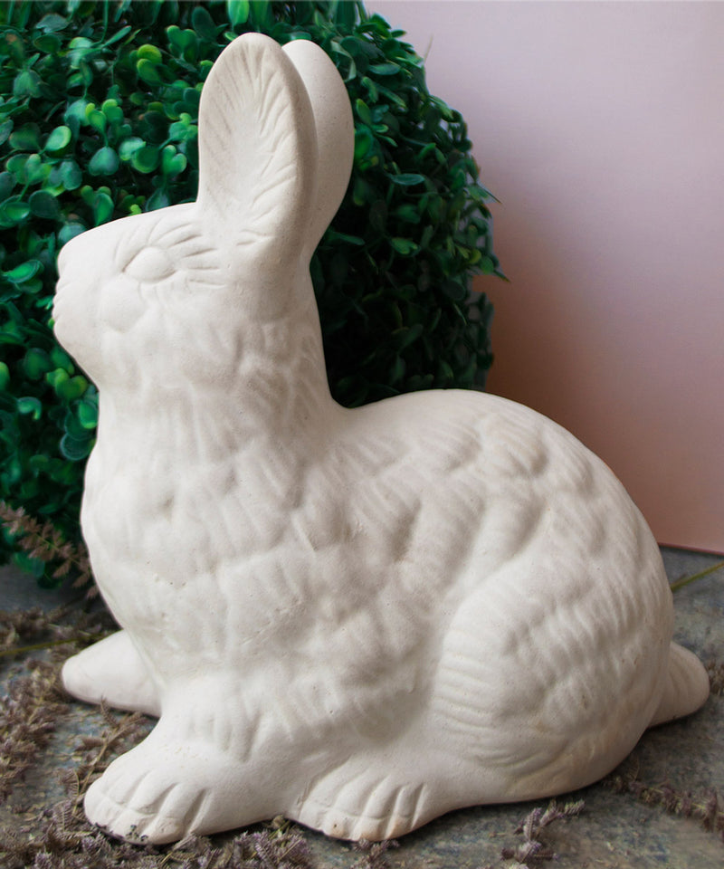 Ceramic Hopping Rabbit