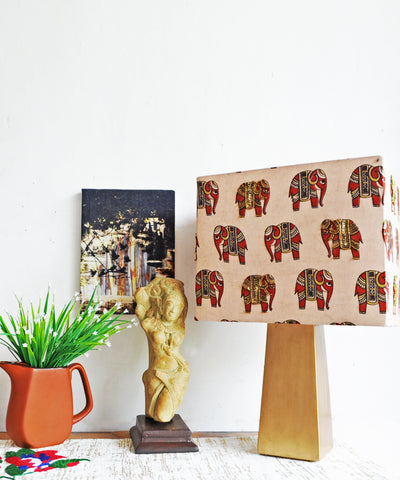 The Royal Kalamkari Lamp Ensamble