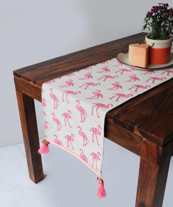 Flamingo Table Runner
