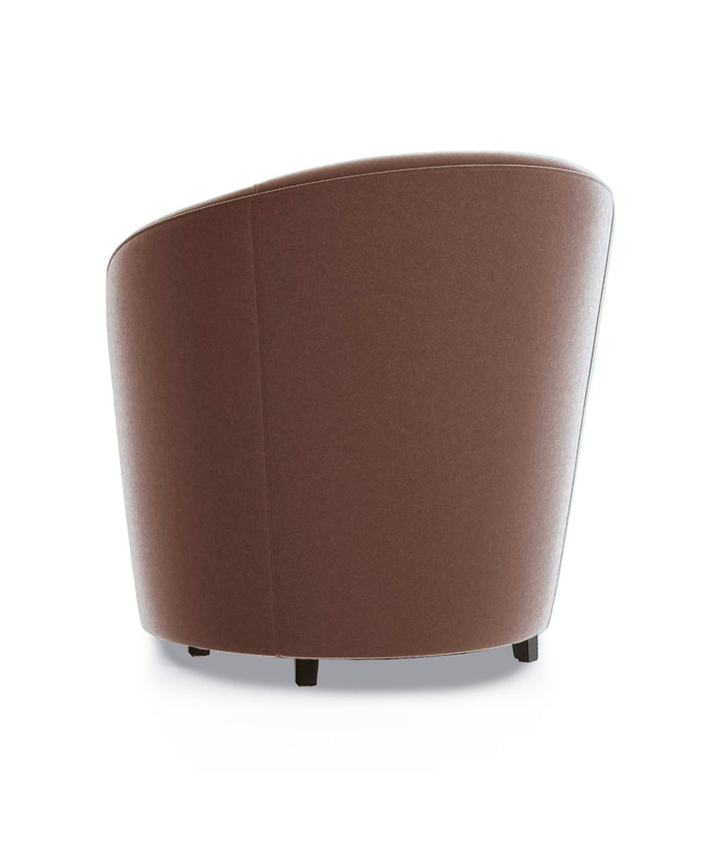 Sand Swede Accent Chair