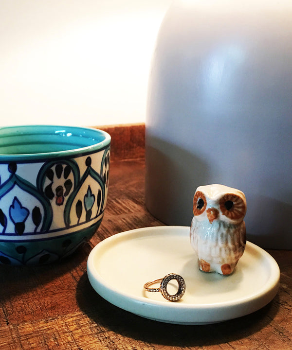 Owl Ring Dish / Jewellery tray