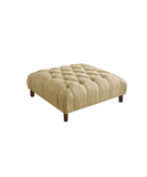 Tufted Jen Ottoman / Centre Table