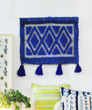 Blue Knotted Wall Hanging