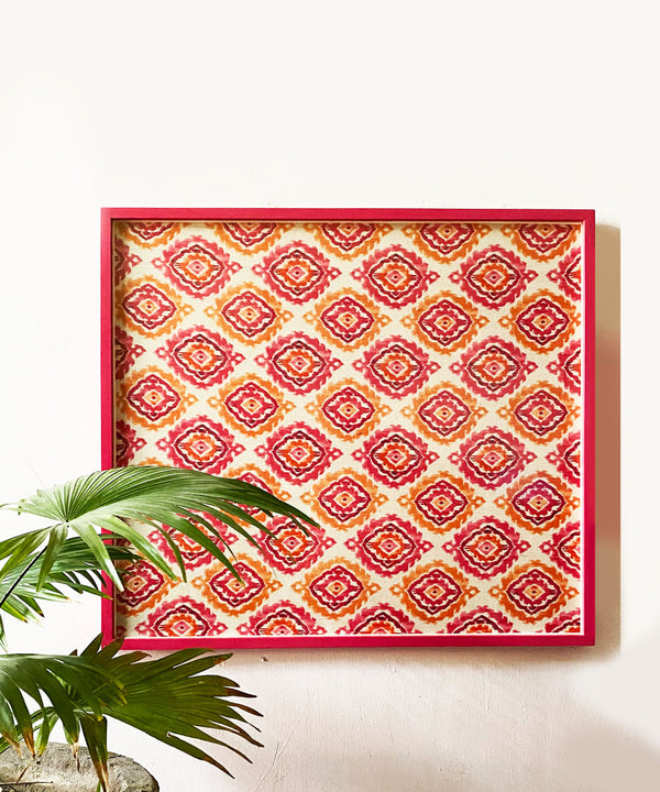 The Fuchsia Merry Wall Art