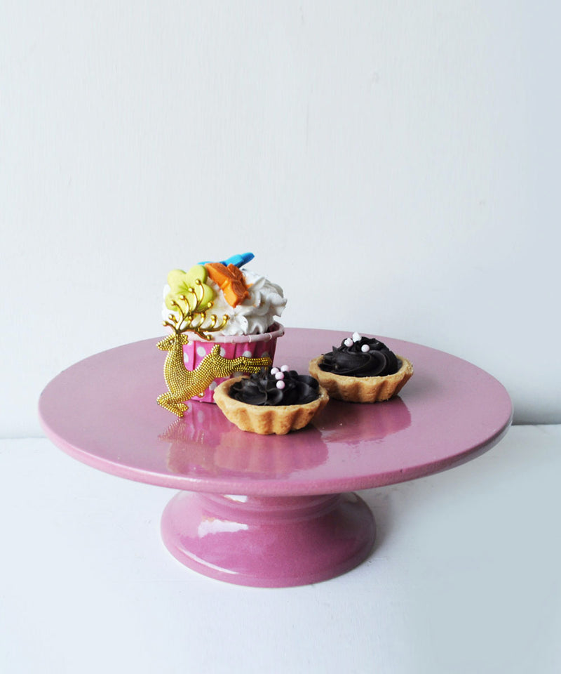 Flamingo Pink Cake Stand