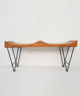 The Log Two Seater Bench