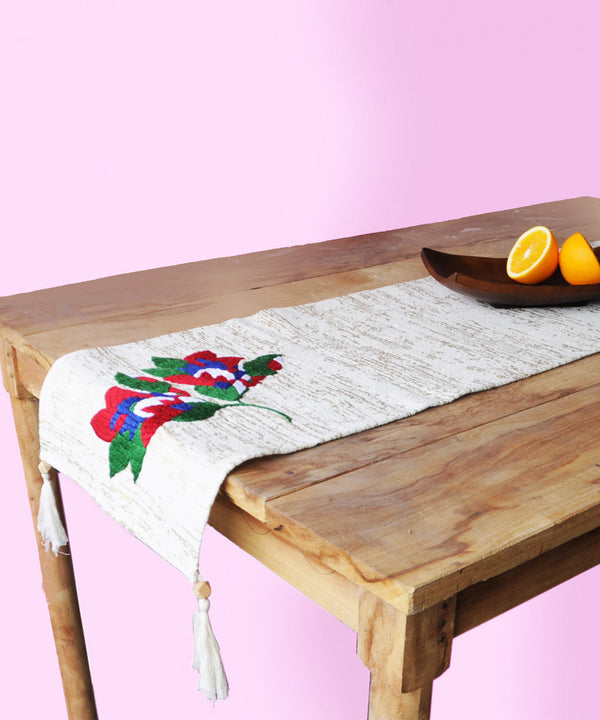 Alice Wild Flower Table Runner