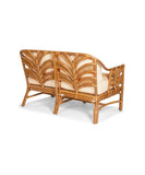 Banana Leaf Natural Wicker Sofa