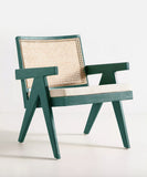 Emerald Rattan Chair