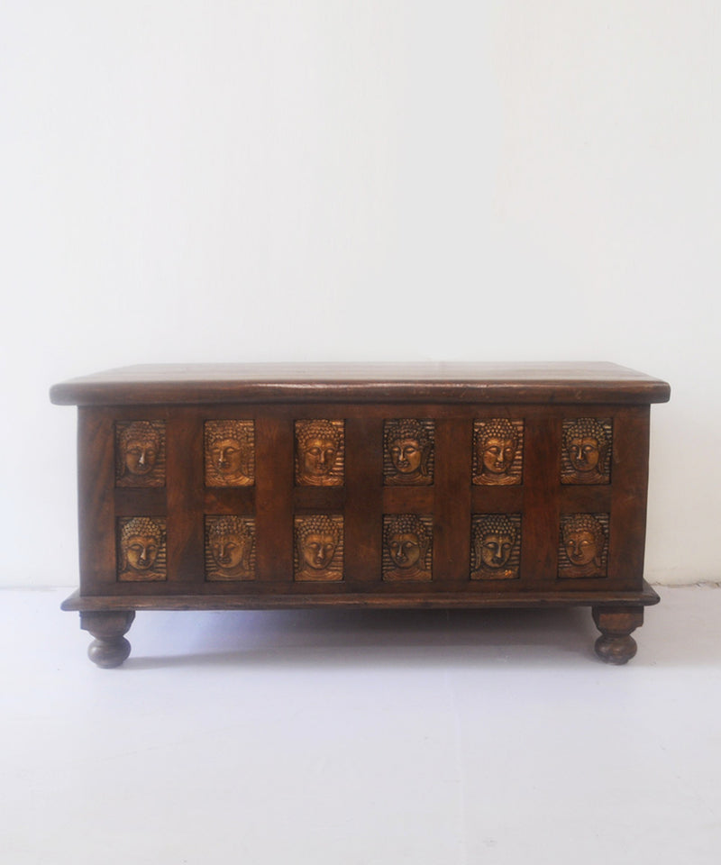 Mini Vintage Buddha Chest
