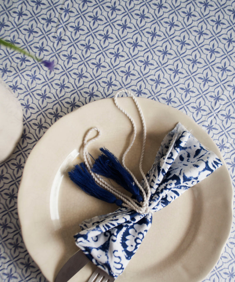 French Tiles Table Cloth