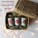 Tangerine Candle Gifting Box