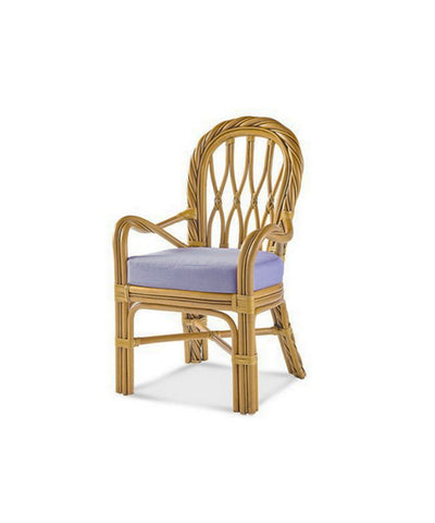 Twisted Wicker Chair