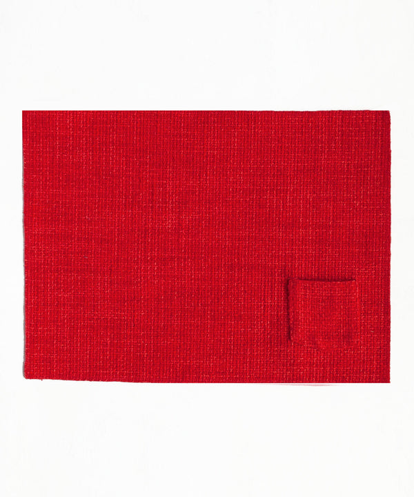 Lush Crimson Table Mats