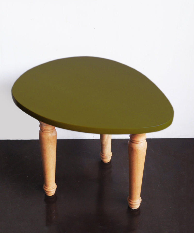 Drop Olive Corner Table